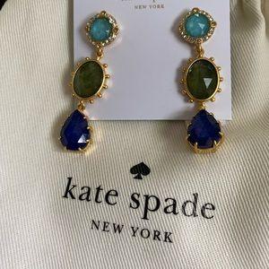 NWT Kate Spade Small linear earrings